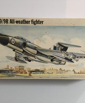 Frog 1/72 Javelin FAW.9/9R All-weather fighter