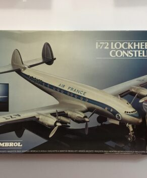 Heller 1/72 L749 Constellation with resin corrected engine cowlings