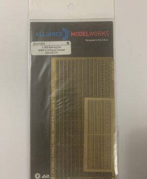 [a]Alliance Modelworks 1/350 Railing set, WWII US small vessels.