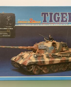 Nichimo 1/35 Tiger II w/wired remote control and electric motor