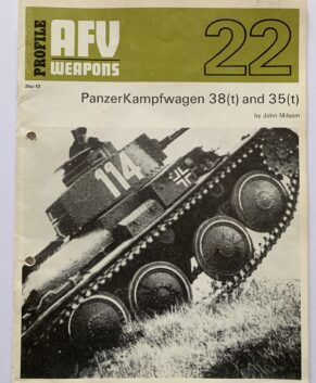 AFV Weapons Profile #22: Panzerkampfwagen 38(t) and 35(t)