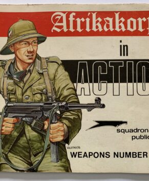 Squadron/Signal Weapons In Action #4: German Afrikakorps