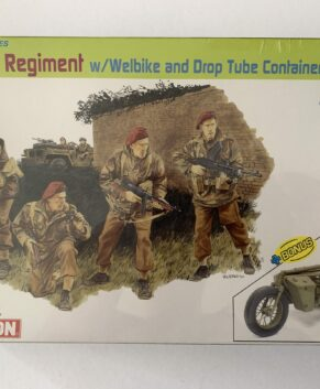 Dragon 1/35 2nd SAS Regiment w/Welbike & Drop Tube container, France 1944